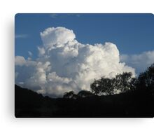 Cumulus! - Late Afternoon Cloud Canvas Print