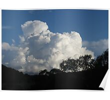 Cumulus! - Late Afternoon Cloud Poster