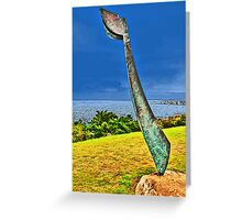 Sculpture by the Sea.3 Greeting Card