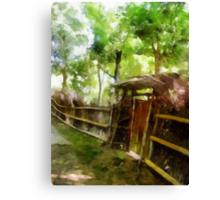 Rustic Gate Canvas Print