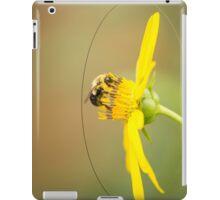 Bee On Cup Flower iPad Case/Skin