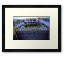 Art Deco Gothic # 2 - BMA House c1929-30 - The HDR Experience Framed Print