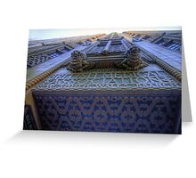 Art Deco Gothic # 2 - BMA House c1929-30 - The HDR Experience Greeting Card
