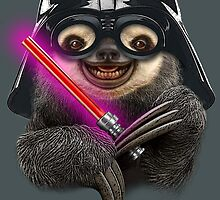 DARTH SLOTH by MEDIACORPSE