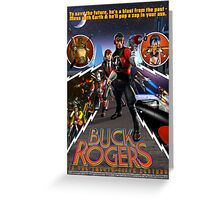 Buck Rogers in the 25th Century Greeting Card