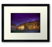 Museum Blues Framed Print