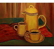 Coffee and Milk Photographic Print
