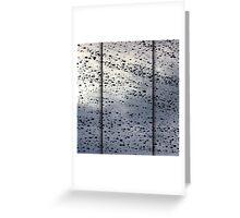 Rainy November Greeting Card