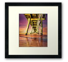 Colors of Dawn Framed Print
