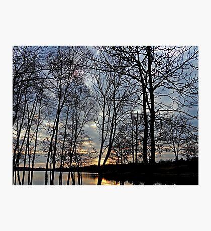 Sunset over Gulladoo Photographic Print