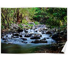 And So The Waters Flow Poster