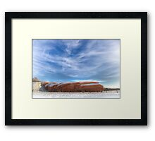 Snow Train Framed Print