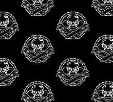 Spanner Skull - White by Sookiesooker
