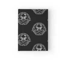 Spanner Skull - White Hardcover Journal