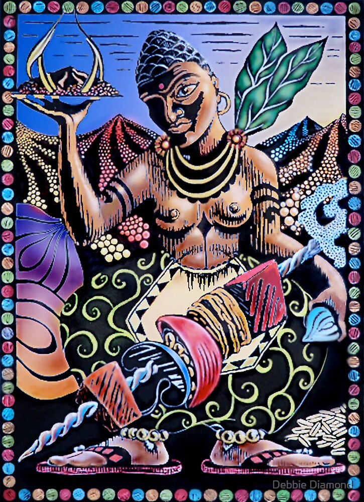 Indian Food by Debbie Diamond