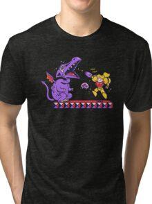 Pew Pew // Metroid Tri-blend T-Shirt