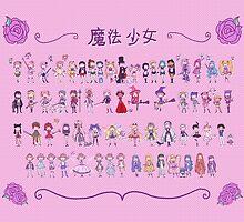 Magical Girls Calendar by Jarino