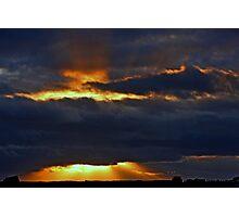 """Crepuscular Rays..."" Photographic Print"
