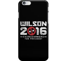 Another Wilson 2016, This Time It's Chimichangas iPhone Case/Skin