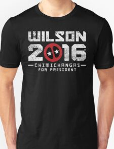 Another Wilson 2016, This Time It's Chimichangas T-Shirt
