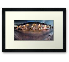 The George Framed Print