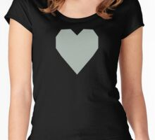Ash Gray  Women's Fitted Scoop T-Shirt