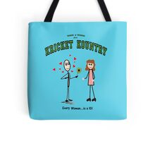 Kricket Kountry Words of Wisdom:  ALL women are TENS! Tote Bag