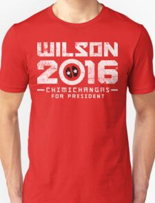 Yet Another Wilson 2016, Still Chimichangas T-Shirt