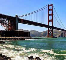 Golden Gate Bridge, San Francisco, California, USA by Clark Thompson