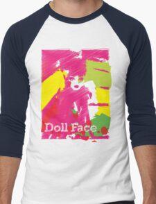 Doll Face 2 Men's Baseball ¾ T-Shirt