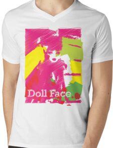 Doll Face 2 Mens V-Neck T-Shirt