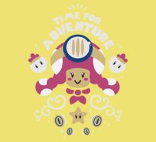 Time for Adventure Toadette Baby Tee