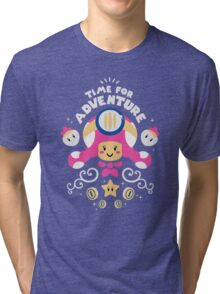 Time for Adventure Toadette Tri-blend T-Shirt