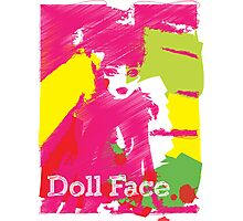 Doll Face 2 Photographic Print