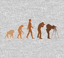 Earth Photographer Evolution Kids Clothes