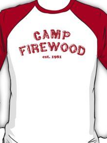 Wet Hot American Summer - Camp Firewood T-Shirt