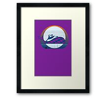 Whale Migration Framed Print