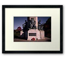Exeter Cenotaph Framed Print