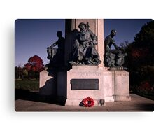 Exeter Cenotaph Canvas Print