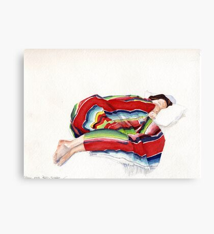 The Mexican Blanket Canvas Print