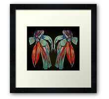 Betta Spendens - In Reflection Framed Print