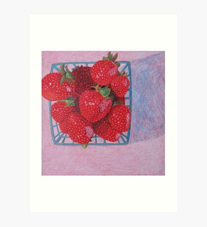 """Strawberries"" Art Print"
