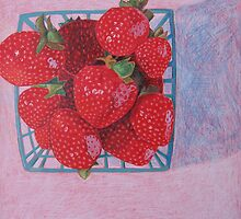 """Strawberries"" by Richard Robinson"