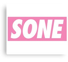 Girls' Generation (SNSD) Fandom 'SONE' Canvas Print