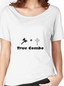 Knee to DTaunt (True Combo) Women's Relaxed Fit T-Shirt