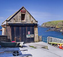 The old Lifeboat station by Steve plowman