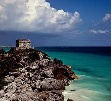 Ruins at Tulum by Snopaw