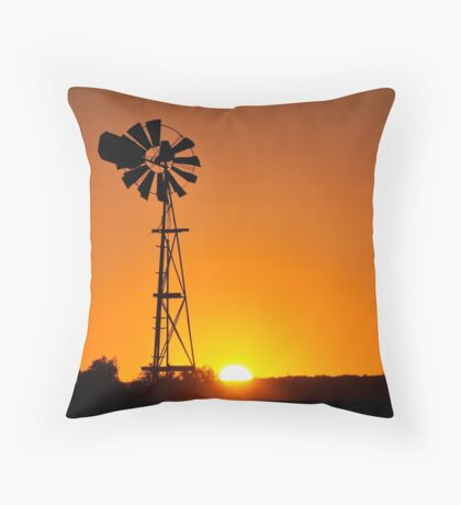 27th of March 2011 Morning Sunrise Throw Pillow