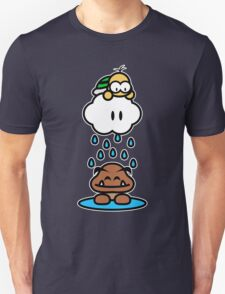 Raindrops keep falling on my head Unisex T-Shirt