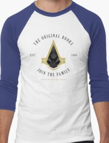 The Rooks Est. 1868 Men's Baseball ¾ T-Shirt